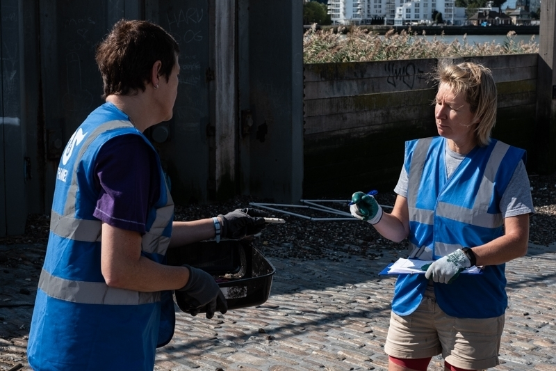 Thames21 survey results for pollution